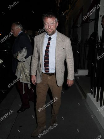 Editorial photo of Guy Ritchie out and about, London, UK - 05 Oct 2020