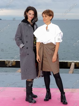 Editorial picture of 'Cheyenne Et Lola' photocall, 3rd Canneseries, France - 14 Oct 2020