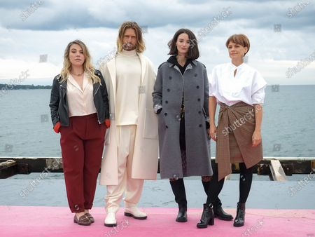Editorial photo of 'Cheyenne Et Lola' photocall, 3rd Canneseries, France - 14 Oct 2020