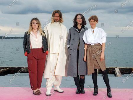 Stock Photo of Sophie-Marie Larrouy, Stephen Di Tordo, Charlotte Le Bon, Veerle Baetens