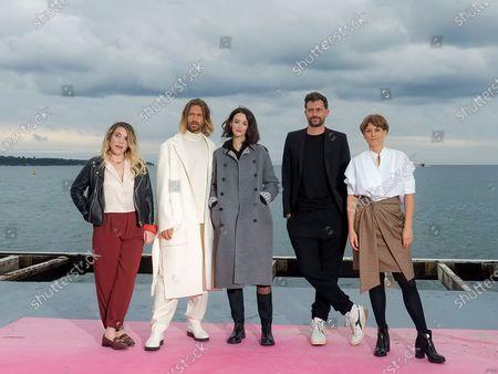 Stock Image of Sophie-Marie Larrouy,Stephen Di Tordo, Charlotte Le Bon, Eshref Reybrouck and Veerle Baetens