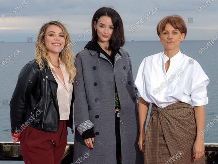 Marie-Sophie Larrouy, Charlotte Le Bon and Veerle Baetens
