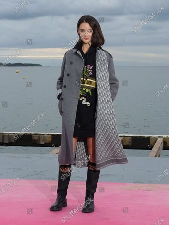 Editorial image of 'Cheyenne Et Lola' photocall, 3rd Canneseries, France - 14 Oct 2020