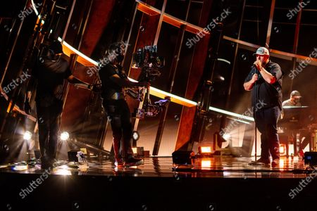 Editorial photo of Scenes from rehearsals for the 2020 Billboard Music Awards, Dolby Theatre, Hollywood, California, United States - 13 Oct 2020