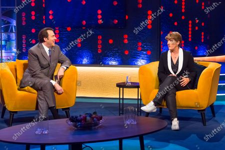 Clare Balding and Jonathan Ross