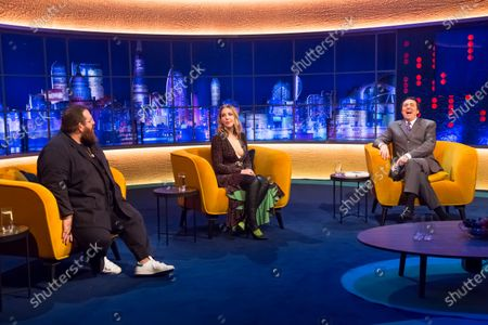 Jonathan Ross, Katherine Ryan, Clare Balding, Samson Kayo, Nick Frost and Billy Ocean