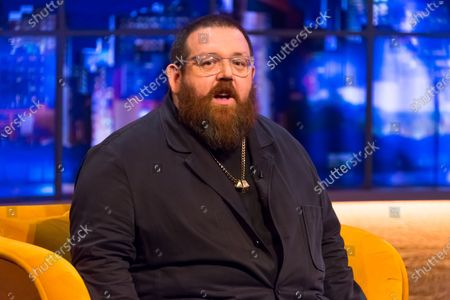 Stock Photo of Nick Frost