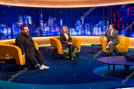 Nick Frost, Katherine Ryan and Jonathan Ross