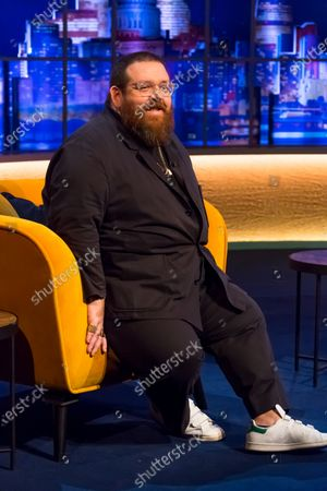 Stock Image of Nick Frost