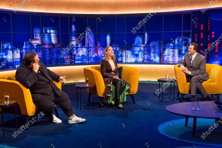 Editorial image of 'The Jonathan Ross Show' TV show, Series 16, Episode 1, London, UK - 17 Oct 2020