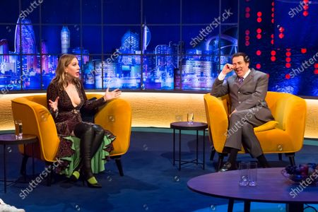 Katherine Ryan and Jonathan Ross