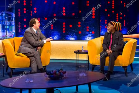 Billy Ocean and Jonathan Ross