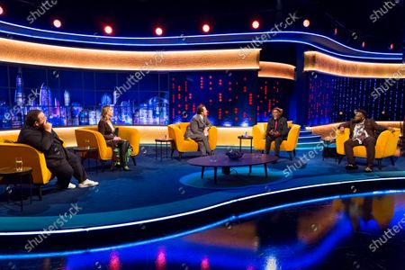 Editorial photo of 'The Jonathan Ross Show' TV show, Series 16, Episode 1, London, UK - 17 Oct 2020