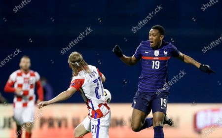 Editorial photo of France Nations League Soccer, Zagreb, Croatia - 14 Oct 2020