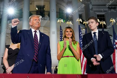Editorial picture of Election 2020 RNC Trump, Washington, United States - 27 Aug 2020
