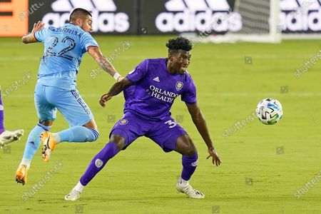 Editorial image of MLS NYCFC City Soccer, Orlando, United States - 14 Oct 2020