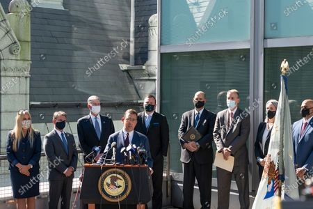Editorial picture of NY: Rapid Strategic Prosecution (RASP) Initiative, New York, United States - 14 Oct 2020