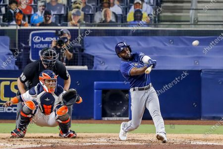 Editorial photo of Tampa Bay Rays at Houston Astros, San Diego, USA - 14 Oct 2020