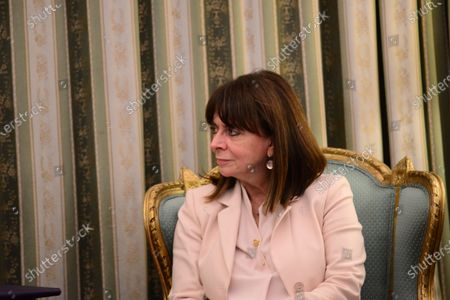 Editorial picture of President of Bulgaria in Athens, Attiki, Greece - 14 Oct 2020
