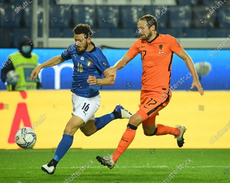 Editorial picture of Italy Bergamo Football Uefa Nations League Italy vs Netherlands - 14 Oct 2020
