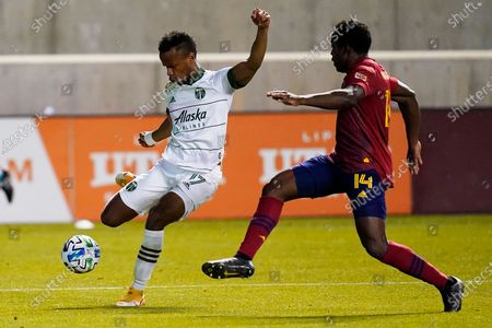 Editorial photo of MLS Timbers Real Salt Lake Soccer, Sandy, United States - 14 Oct 2020