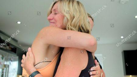 Ferne McCann and mum Gilly.