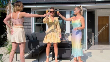 Ferne McCann, Sam Faiers and Billie Faiers.