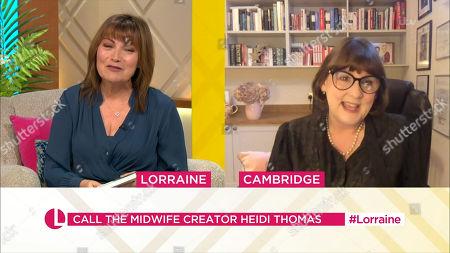 Lorraine Kelly, Heidi Thomas