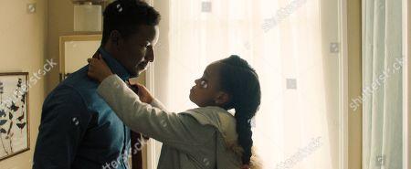 Mamoudou Athie as Nolan and Amanda Christine as Ava