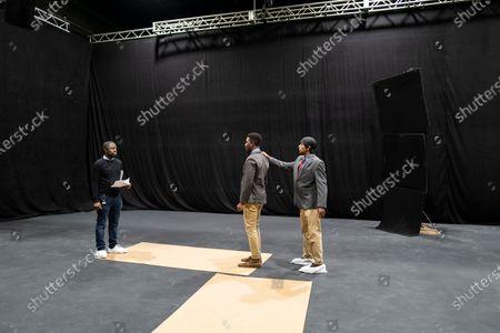 Emmanuel Osei-Kuffour Director and Mamoudou Athie as Nolan
