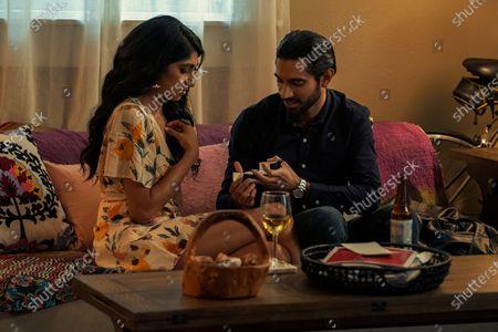 Stock Photo of Sunita Mani as Pallavi and Omar Maskati as Sandeep