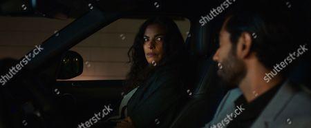 Sarita Choudhury as Usha and Omar Maskati as Sandeep