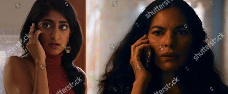 Sunita Mani as Pallavi and Sarita Choudhury as Usha