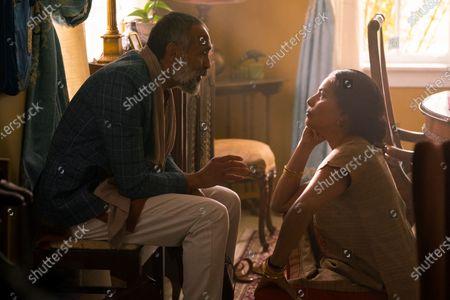 Bernard White as Krishnan and Sarita Choudhury as Usha