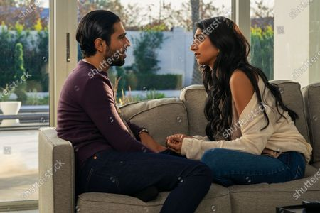 Omar Maskati as Sandeep and Sunita Mani as Pallavi