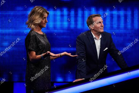 Jacqui Oakley and Bradley Walsh