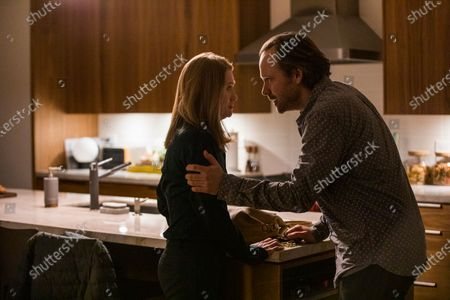 Stock Image of Mireille Enos as Rebecca and Peter Sarsgaard as Jay