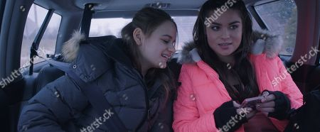 Joey King as Kayla and Devery Jacobs as Britney