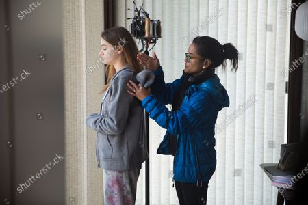 Joey King as Kayla and Veena Sud Director
