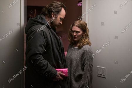 Peter Sarsgaard as Jay and Mireille Enos as Rebecca