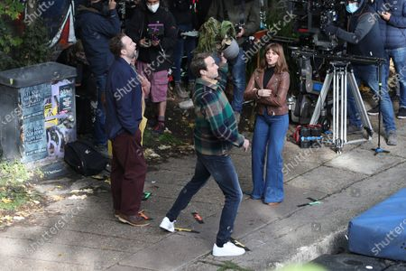 Editorial picture of 'Trying' TV show on set filming, London, UK - 15 Oct 2020