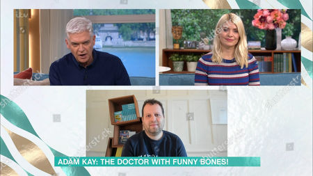 Holly Willoughby, Phillip Schofield, Adam Kay