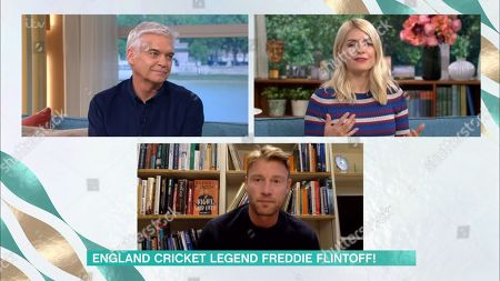 Holly Willoughby, Phillip Schofield, Andrew 'Freddie' Flintoff