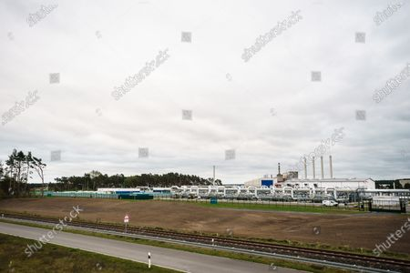 Editorial picture of Mecklenburg-Western Pomerania State Premier visits industrial port Lubmin, Germany - 15 Oct 2020