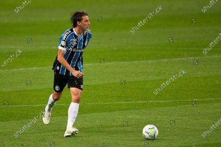 Pedro Geromel of Gremio; Arena de Gremio, Porto Alegre, Brazil; Brazilian Serie A, Gremio versus Botafogo.