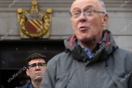Editorial photo of Andy Burnham Press Conference, Manchester, Greater Manchester, UK - 15 Oct 2020