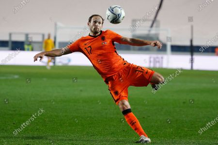 Editorial image of Netherlands Nations League Soccer, Bergamo, Italy - 14 Oct 2020