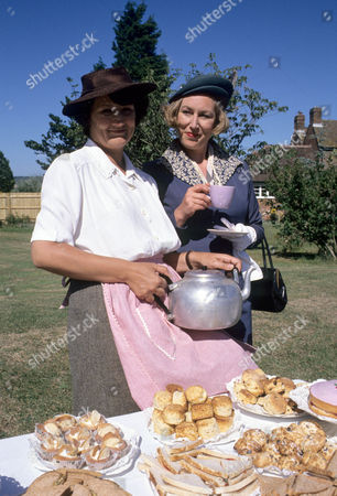 Series 1 Picture shows - Rachel Bell as Edith Pilchester and Richenda Carey as Lady Bluff-Gore