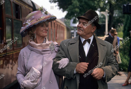 Stock Photo of Series 1 Picture shows - Jane Downs as Countess Czernikov and Arthur White as Uncle Perce