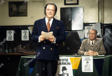 Series 3 Picture shows - David Jason as Pop Larkin and Moray Watson as Brigadier